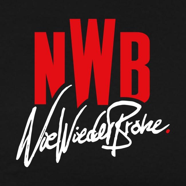 """Schwarzes """"Nie Wieder Broke"""" T-Shirt"""