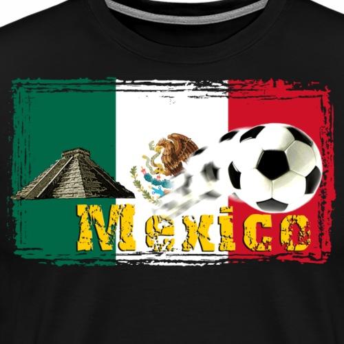 Mexico Fussball - Männer Premium T-Shirt