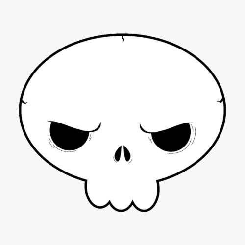 Skullie - Herre premium T-shirt