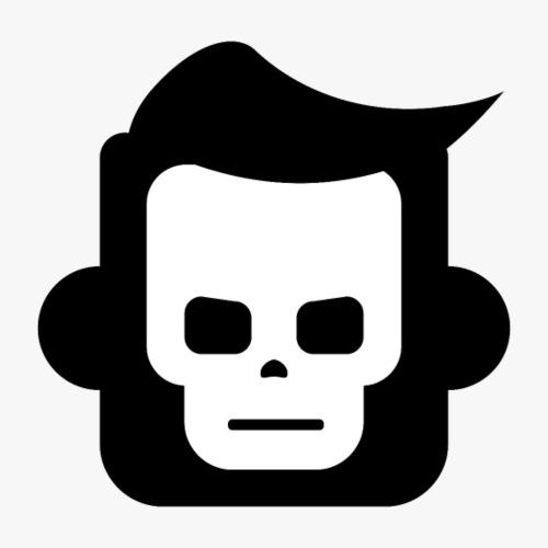 Xray Skull Boy - Herre premium T-shirt