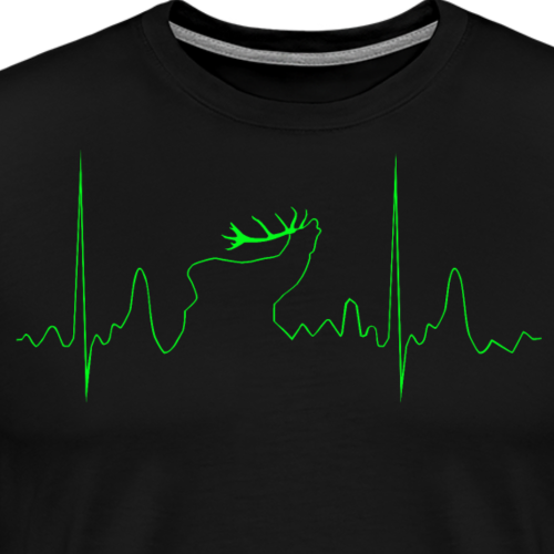Rothirsch Rudi - Männer Premium T-Shirt