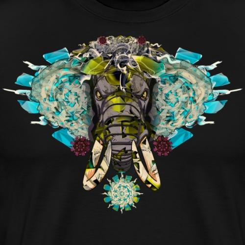 elefant mandala buddha - Männer Premium T-Shirt