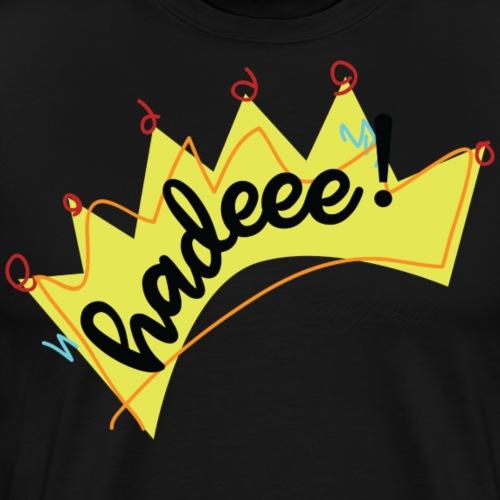 Hadeee! - Premium-T-shirt herr