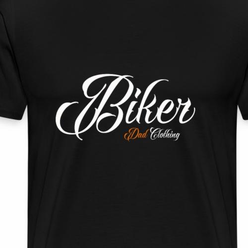 Biker Dad Design - Men's Premium T-Shirt