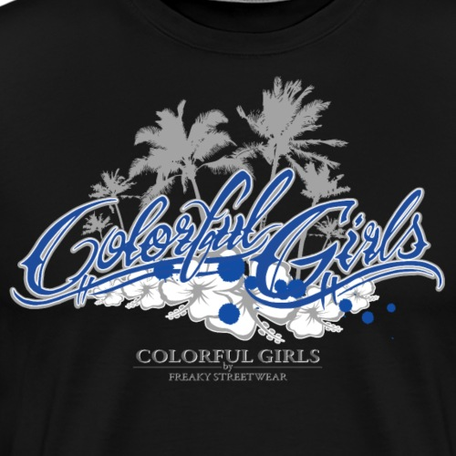 Colorful Girls Logo - Männer Premium T-Shirt