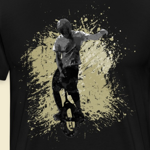 Einrad | Unicycling Freestyle - Männer Premium T-Shirt