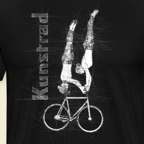Kunstrad | 2er Kunstrad Handstand - Kopfstand - Männer Premium T-Shirt