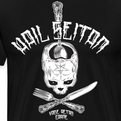 Hail Seitan - Men's Premium T-Shirt
