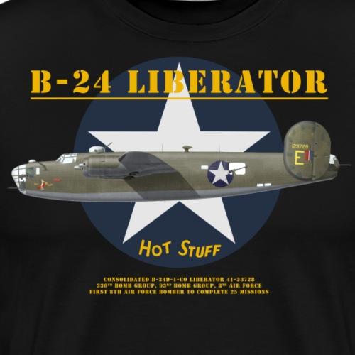 B-24 Hot Stuff - Men's Premium T-Shirt