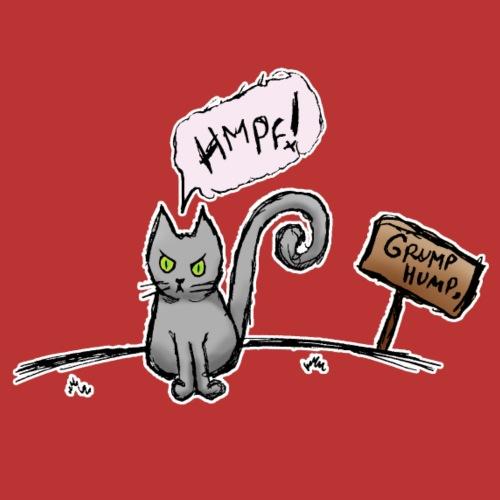 Kyo's Designs - Kitty Grump Hump - Men's Premium T-Shirt