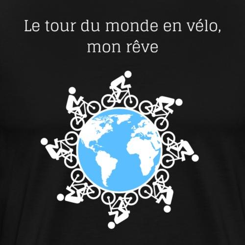 Le tour du monde en vélo 2 - T-shirt Premium Homme