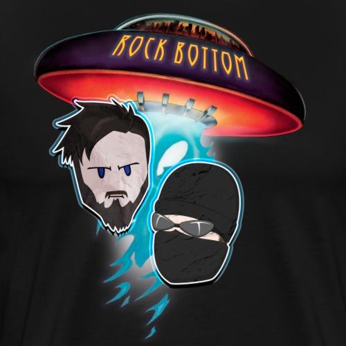 Rock Bottom UFO Logo Casper & Magnus - Herre premium T-shirt