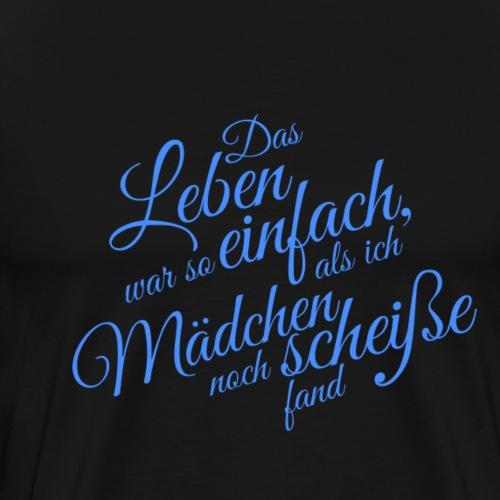 maedchen - Männer Premium T-Shirt