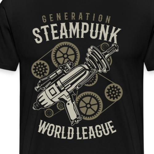 Generation Steampunk - Männer Premium T-Shirt