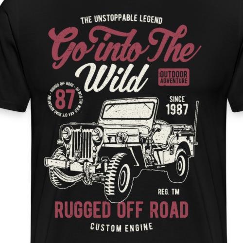 Off Road Fans Geschenk Geschenkidee - Männer Premium T-Shirt