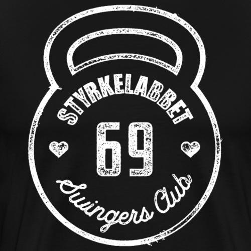 Styrkelabbet Swingers Club - Premium-T-shirt herr