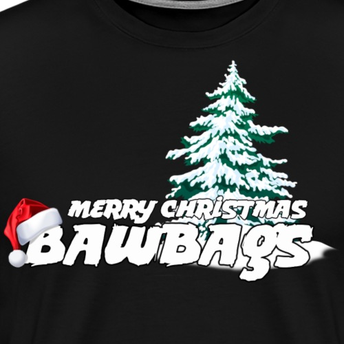 Merry Christmas Bawbags - Men's Premium T-Shirt