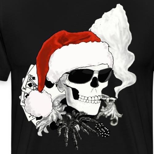 skull XMAS - Männer Premium T-Shirt