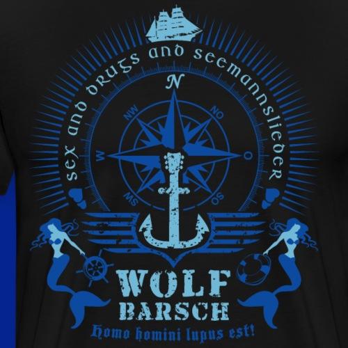 wolf_barsch_shirt_122015_2c02 - Männer Premium T-Shirt