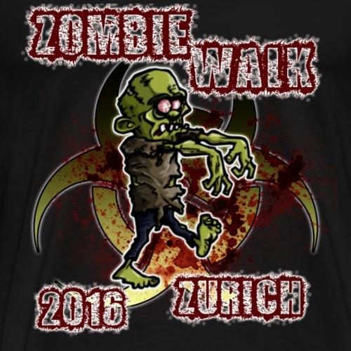 shirt zombie walk3 - Männer Premium T-Shirt