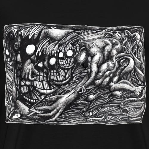 Grendel Mother Dream by Brian Benson - Men's Premium T-Shirt