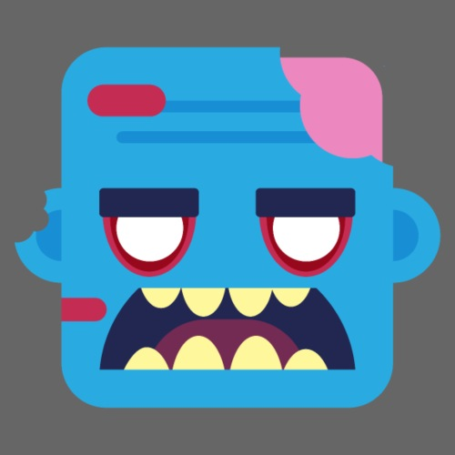 Mini Monsters - Zombob - Herre premium T-shirt