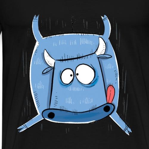 freierfallkuh png - Männer Premium T-Shirt