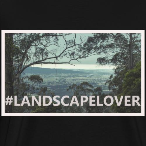 Landscapelover Mountains - Men's Premium T-Shirt