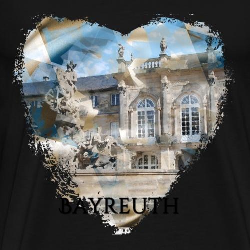 My heART beats for Bayreuth - Männer Premium T-Shirt