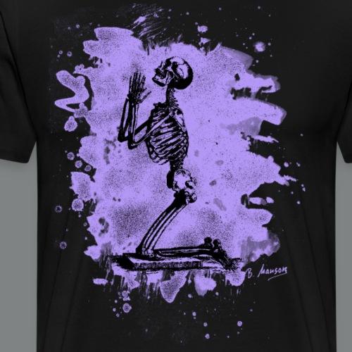 Prayer – bleached violet - Männer Premium T-Shirt