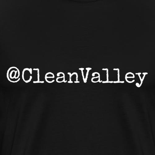 clean valley - Premium T-skjorte for menn