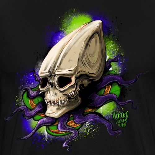 Alien BONE SQL - Men's Premium T-Shirt