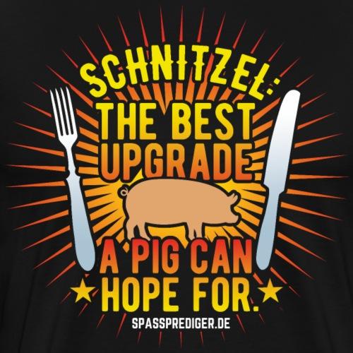 Lustiges Grill-Shirt Schnitzel - Männer Premium T-Shirt