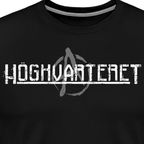 Vit - Premium-T-shirt herr