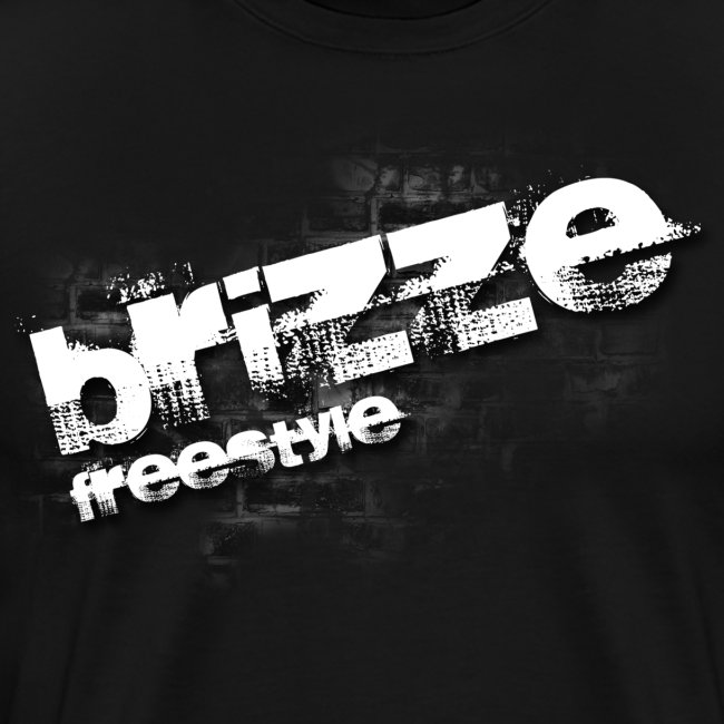 Brizze Freestyle on wall