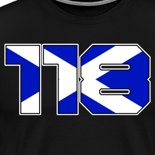 118 Escocia - Men's Premium T-Shirt