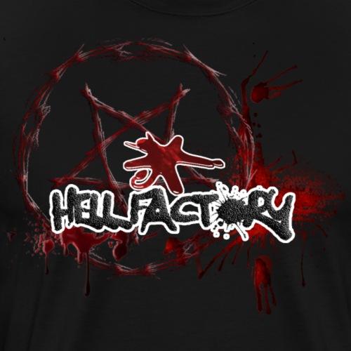 Hell Factory Lava - Maglietta Premium da uomo