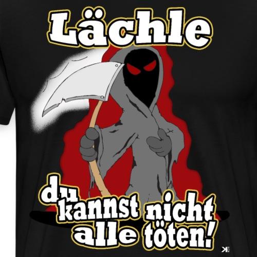 Lächle - Männer Premium T-Shirt