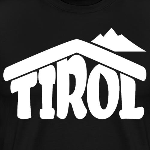 Tirol Österreich Souvenir Paradies für Schifahrer - Männer Premium T-Shirt