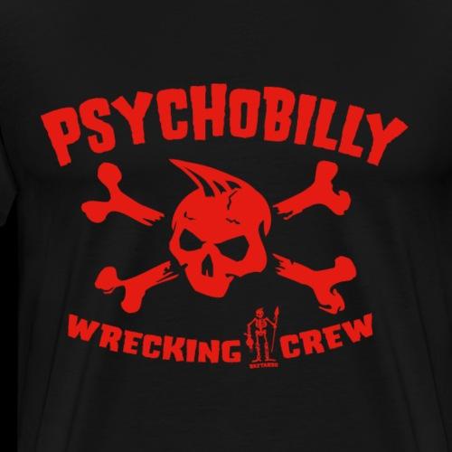 Psychobilly Wrecking Crew - Männer Premium T-Shirt
