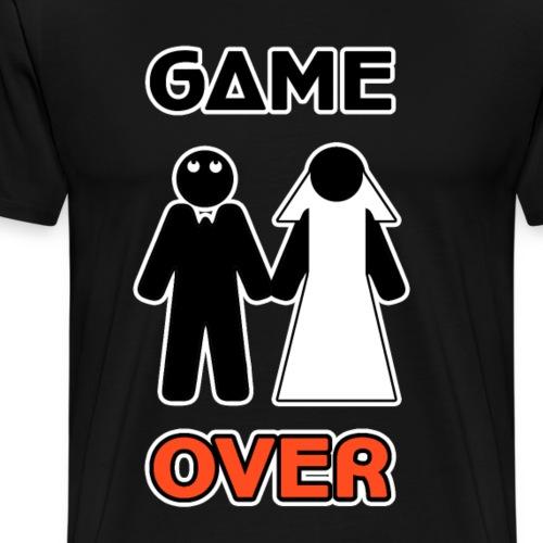 Addio al Celibato - Game Over - Maglietta Premium da uomo