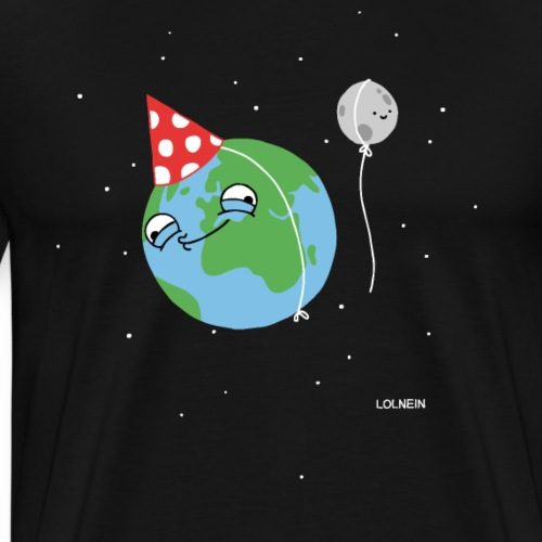 Happy Earth - Männer Premium T-Shirt
