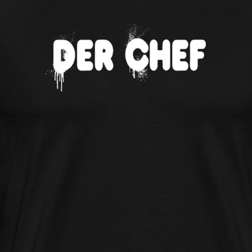 Der Chef Boss - Männer Premium T-Shirt