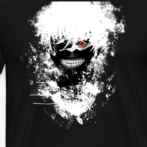 Kaneki Eye Patch - Men's Premium T-Shirt