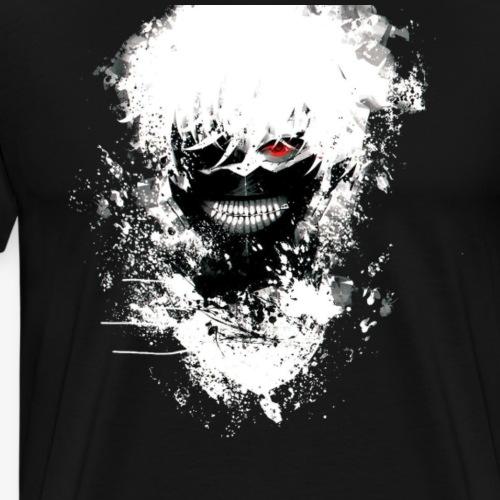 Kaneki Eye Patch - Men's Premium T-Shirt
