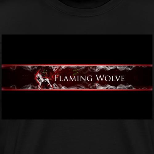 Flaming Wolve Merchandise - Mannen Premium T-shirt