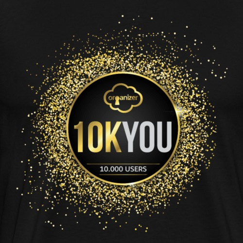 10k You! 10000 times thank you to ORGanusers! - Men's Premium T-Shirt