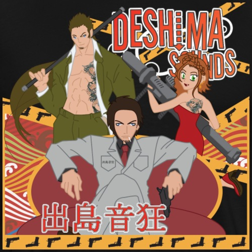 Deshima Sounds 09 2012 - Mannen Premium T-shirt