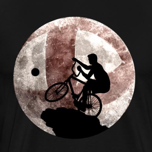 Radball   Cycle Ball Moon - Männer Premium T-Shirt