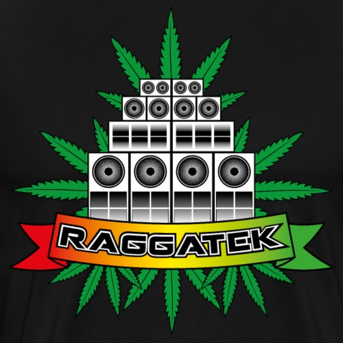 Raggatek Sound System - Men's Premium T-Shirt